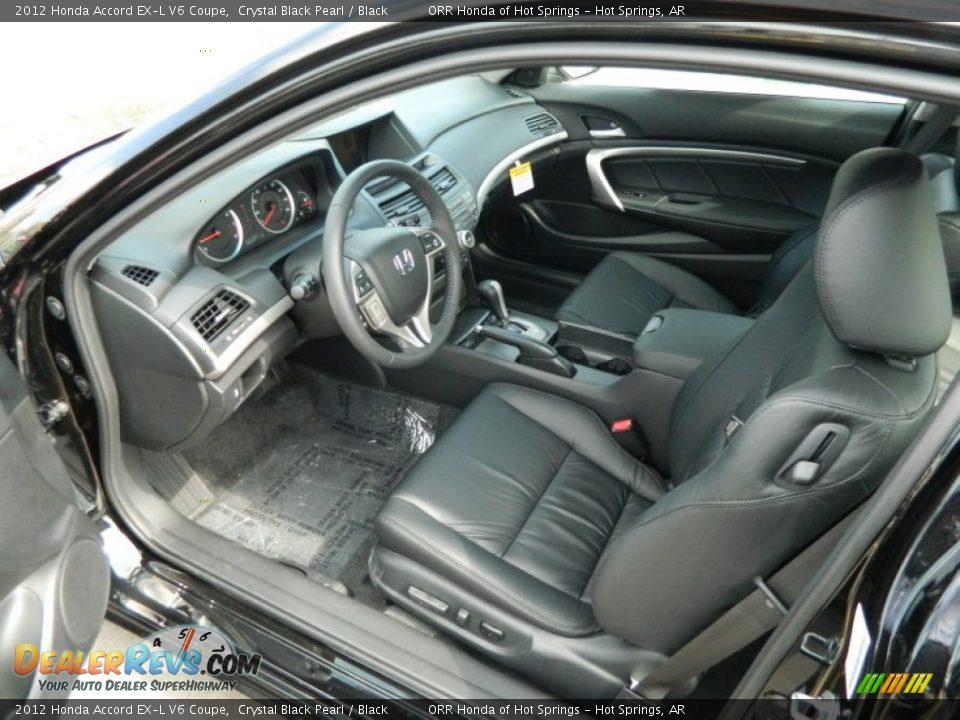 Black interior 2012 honda accord ex l v6 coupe photo 11 - 2012 honda accord coupe interior ...