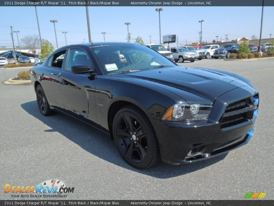 2011 dodge charger r t mopar 39 11 pitch black black mopar. Black Bedroom Furniture Sets. Home Design Ideas