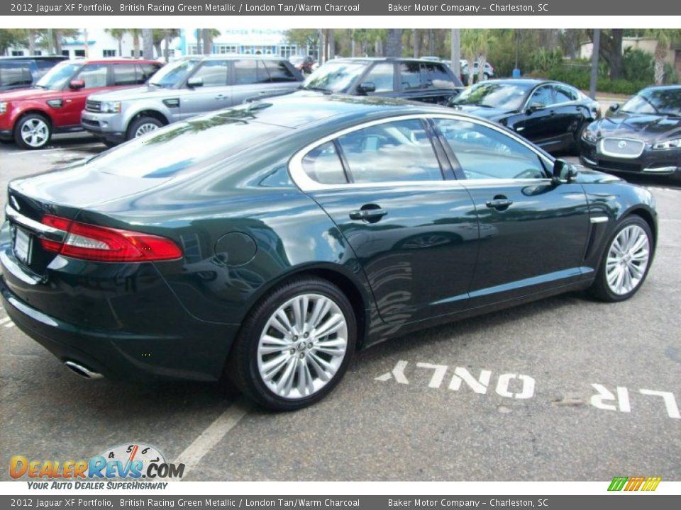 2012 Jaguar XF Portfolio British Racing Green Metallic / London Tan ...