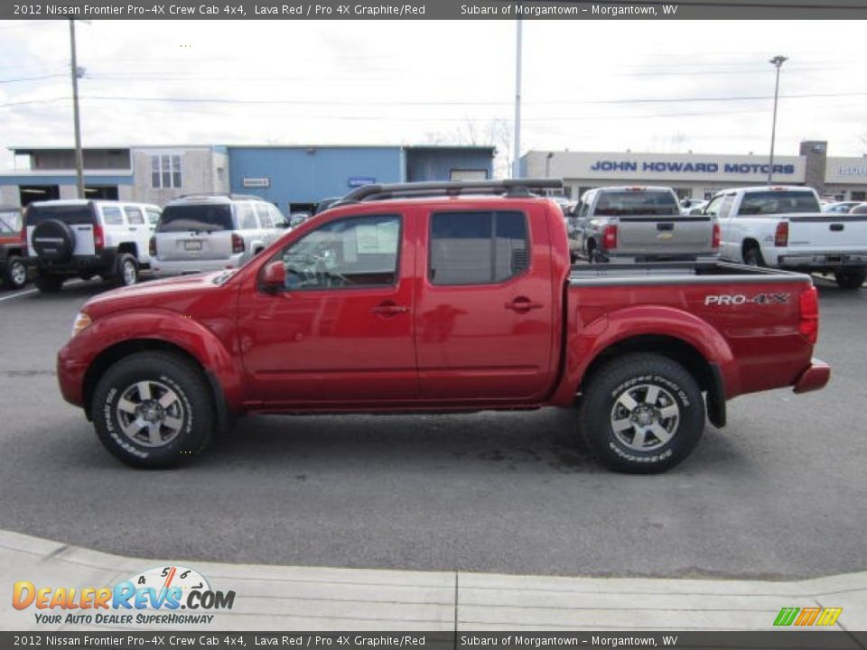 2012 nissan frontier pro 4x crew cab 4x4 lava red pro 4x. Black Bedroom Furniture Sets. Home Design Ideas