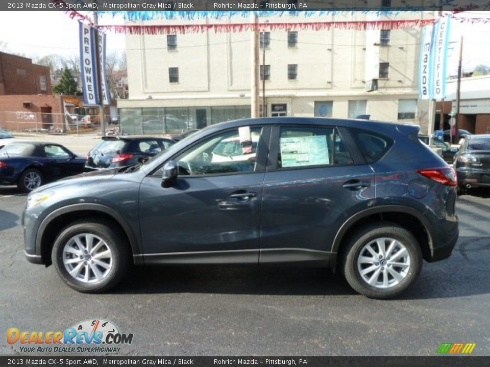 2013 mazda cx 5 sport awd metropolitan gray mica black photo 2. Black Bedroom Furniture Sets. Home Design Ideas