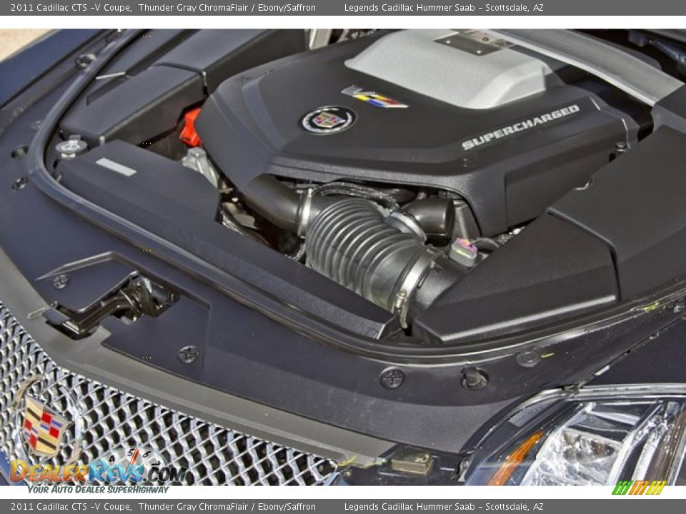 2011 Cadillac Cts V Coupe 6 2 Liter Supercharged Ohv 16
