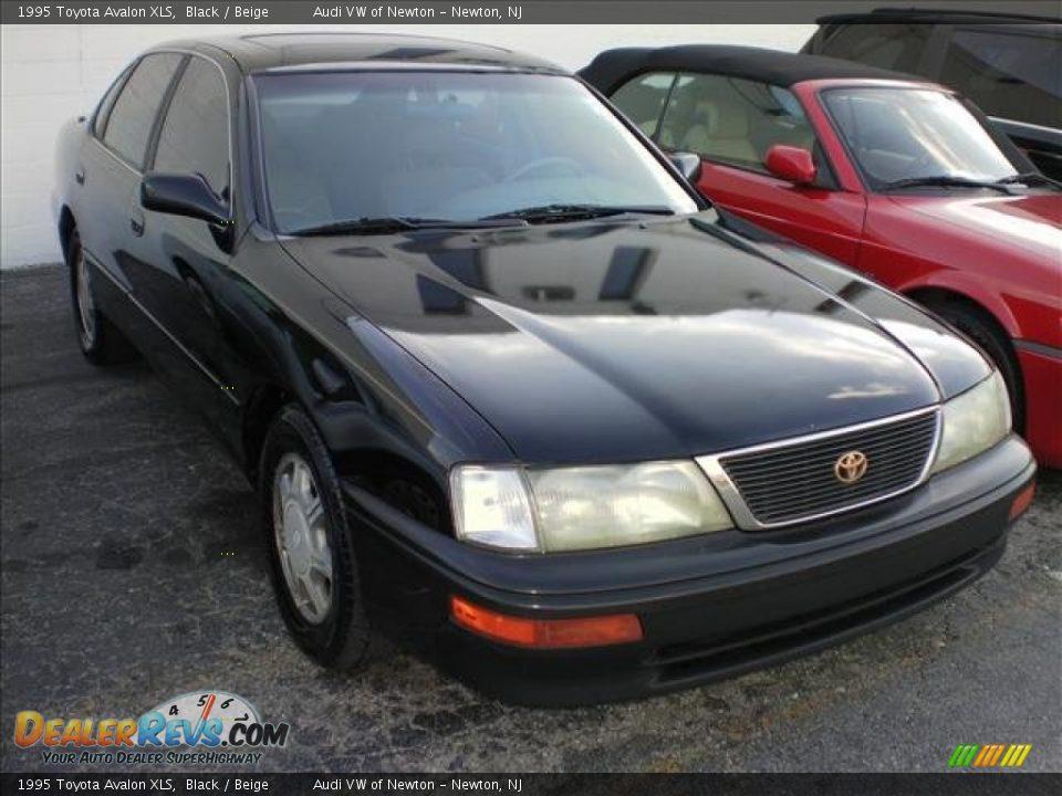 1995 Toyota Avalon Xls Black Beige Photo 1 Dealerrevs Com