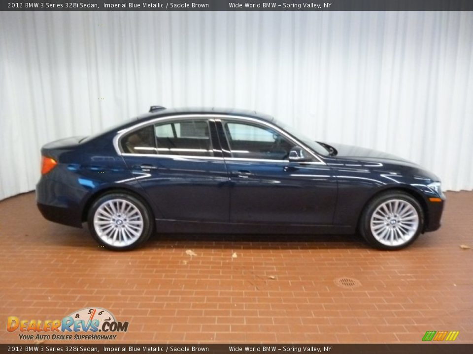 imperial blue metallic 2012 bmw 3 series 328i sedan photo 3. Black Bedroom Furniture Sets. Home Design Ideas