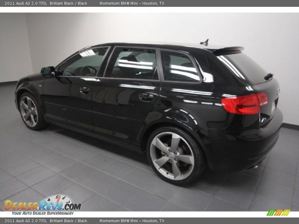 Brilliant Black 2011 Audi A3 2 0 Tfsi Photo 5
