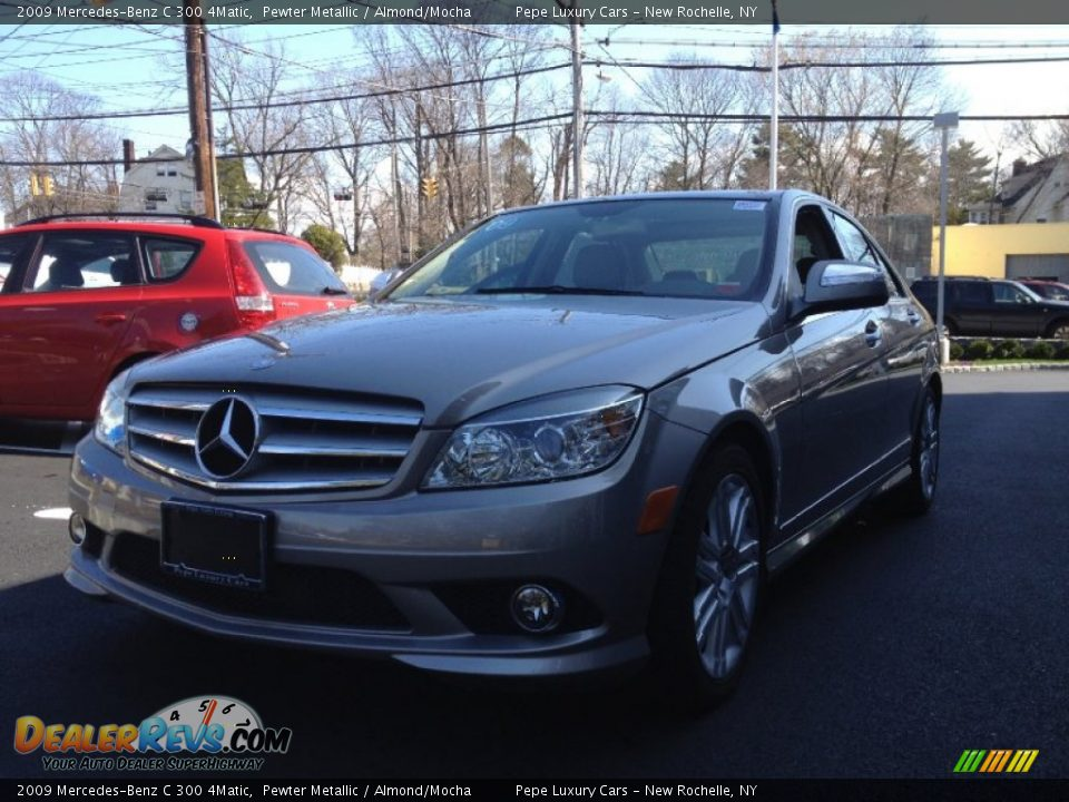 2009 mercedes benz c 300 4matic pewter metallic almond for 2009 mercedes benz c 300