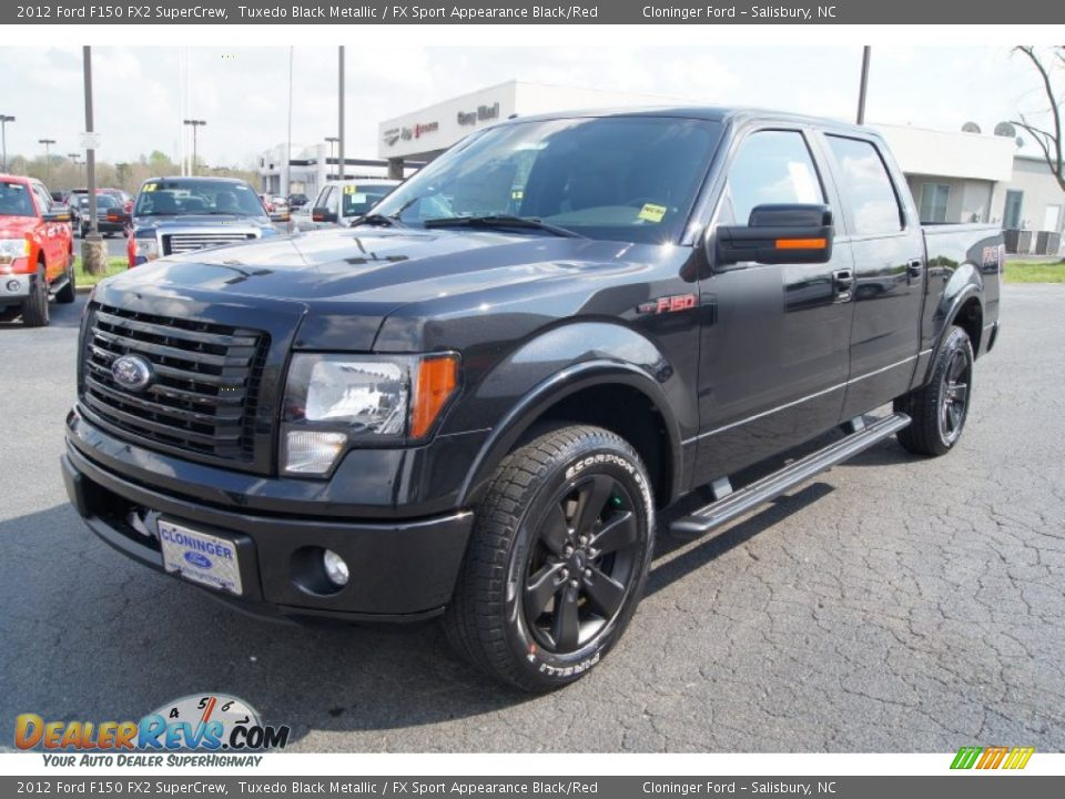 2012 ford f150 fx2 supercrew tuxedo black metallic fx sport appearance black red photo 6. Black Bedroom Furniture Sets. Home Design Ideas