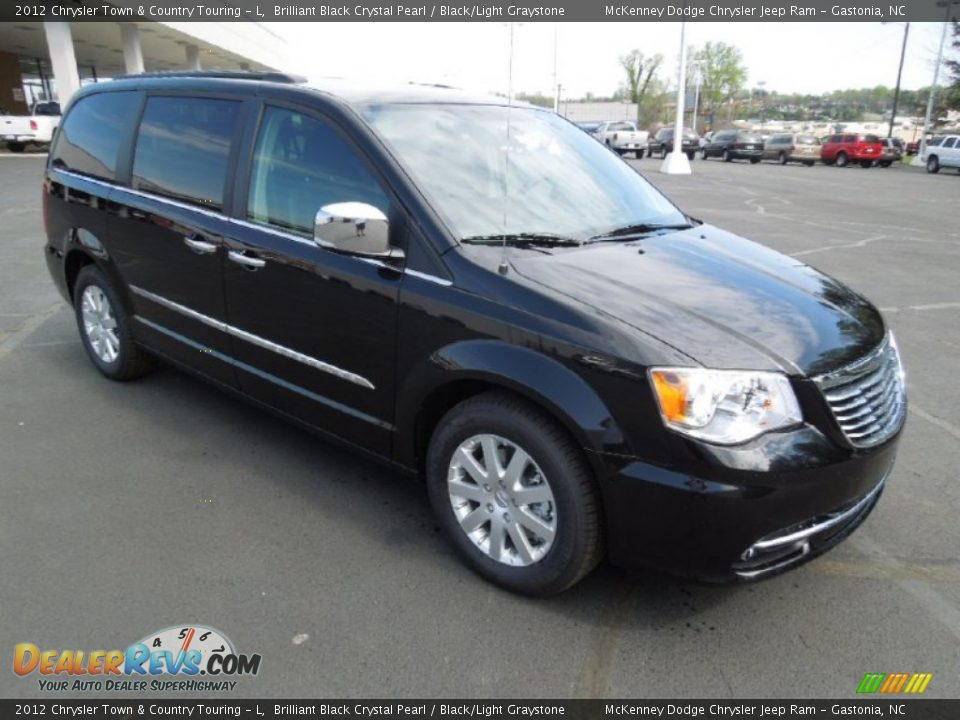 2012 Chrysler Town Amp Country Touring L Brilliant Black