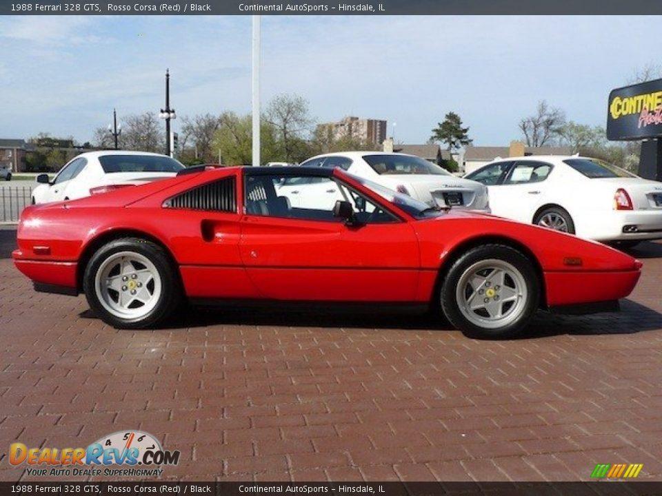Rosso Corsa Red 1988 Ferrari 328 Gts Photo 8