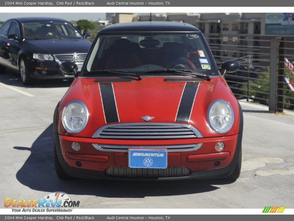 2004 mini cooper hardtop chili red red black photo 2. Black Bedroom Furniture Sets. Home Design Ideas