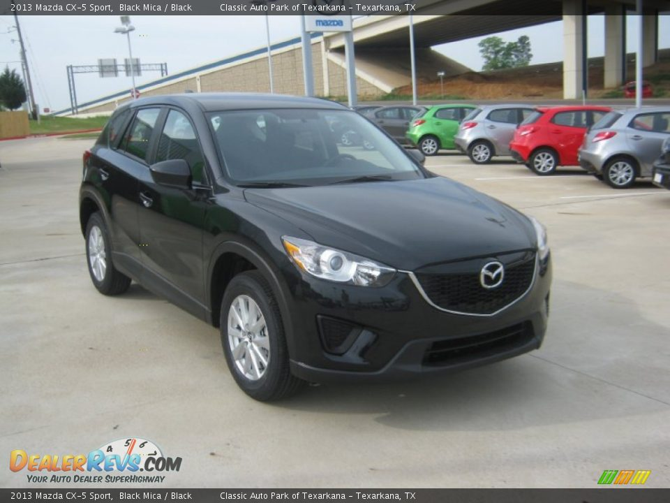 2013 Mazda Cx 5 Sport Black Mica Black Photo 7