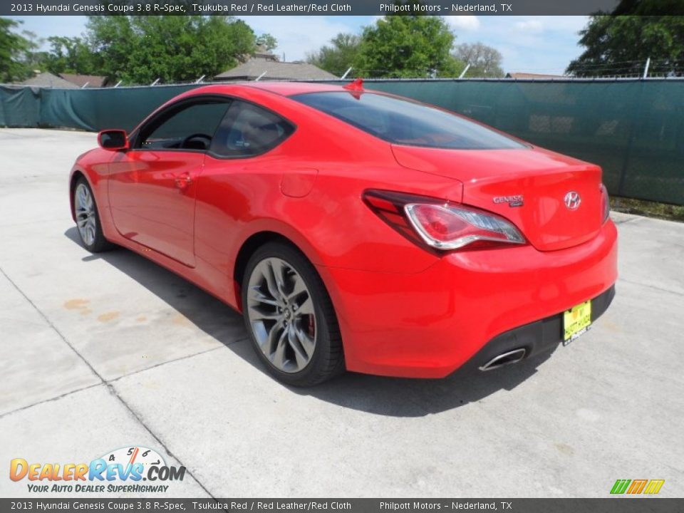 2013 hyundai genesis coupe 3 8 r spec tsukuba red red leather red cloth photo 5. Black Bedroom Furniture Sets. Home Design Ideas
