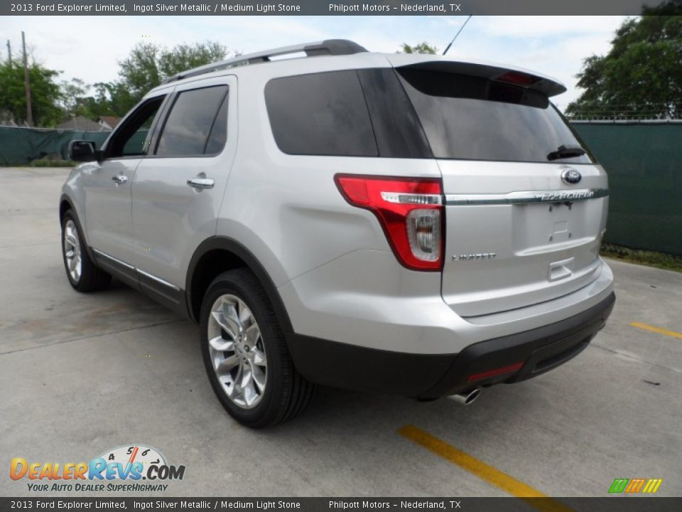 ingot silver metallic 2013 ford explorer limited photo 5 dealerrevs. Cars Review. Best American Auto & Cars Review