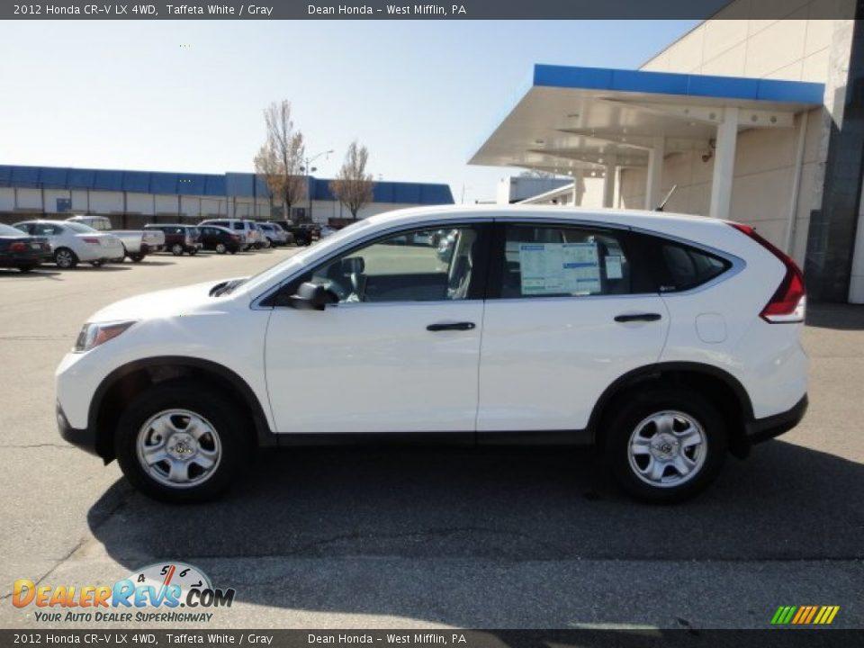 2012 Honda CR-V LX 4WD Taffeta White / Gray Photo #2 | DealerRevs.com