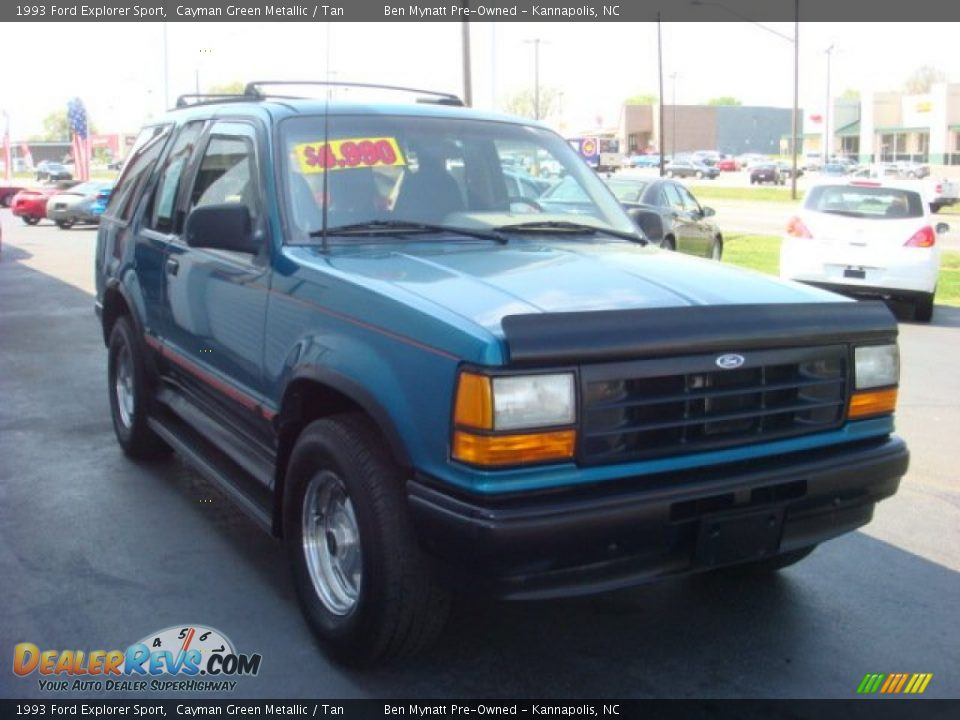 Used Ford Explorer >> 1993 Ford Explorer Sport Cayman Green Metallic / Tan Photo ...