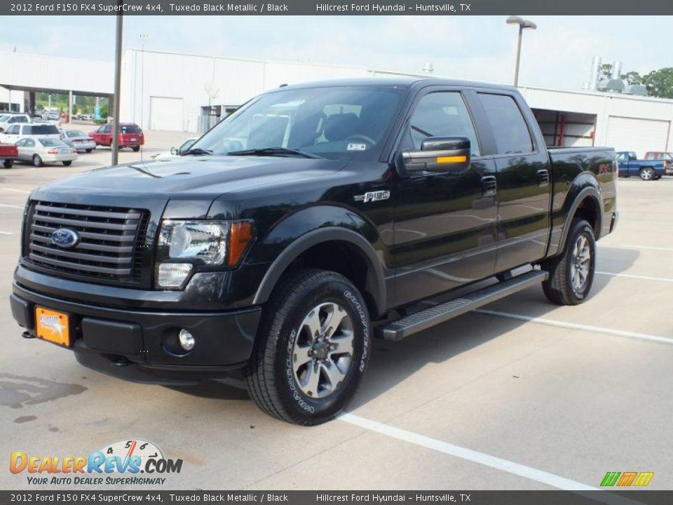 Ford Dealer Locator >> 2012 Ford F150 FX4 SuperCrew 4x4 Tuxedo Black Metallic / Black Photo #9   DealerRevs.com