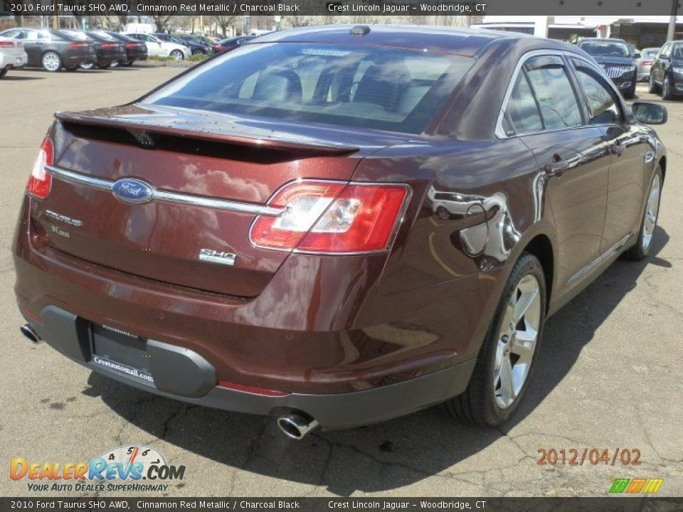 Ford Taurus Sho Awd Cinnamon Red Metallic Charcoal
