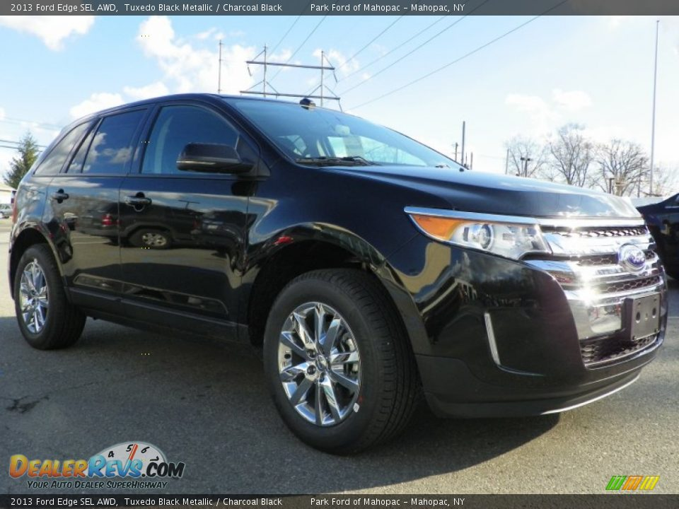 Ford edge charcoal black interior trim