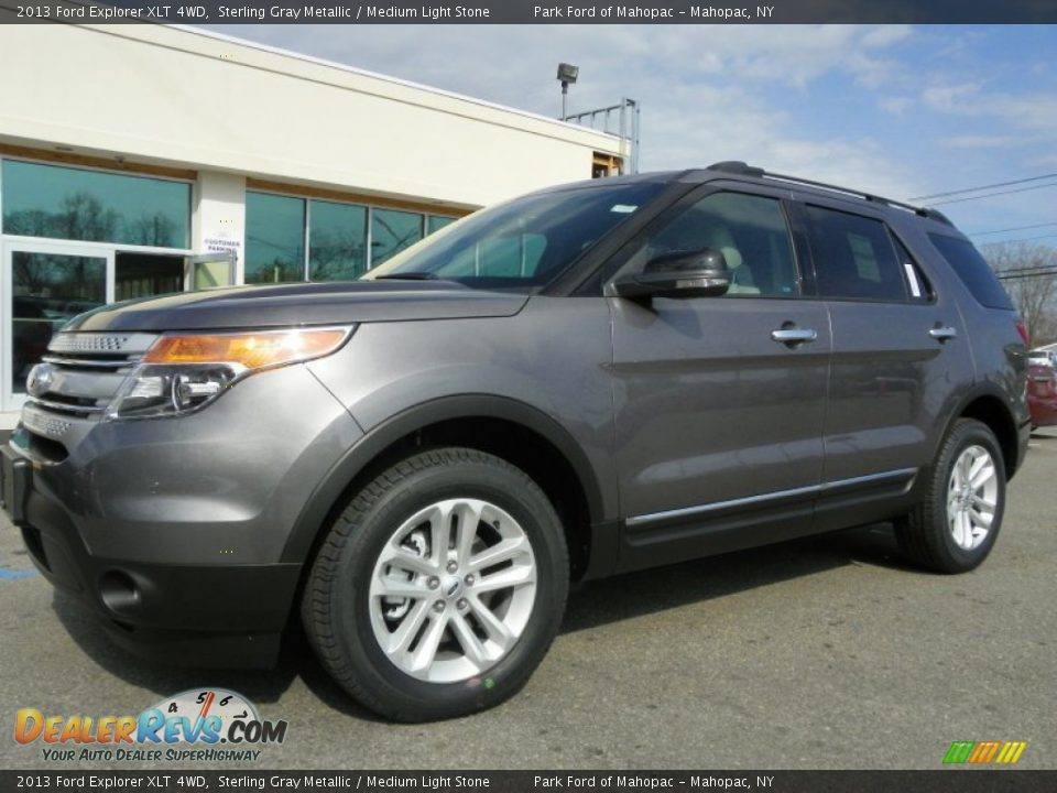 2013 Ford Explorer Sterling Grey Xlt Autos Post
