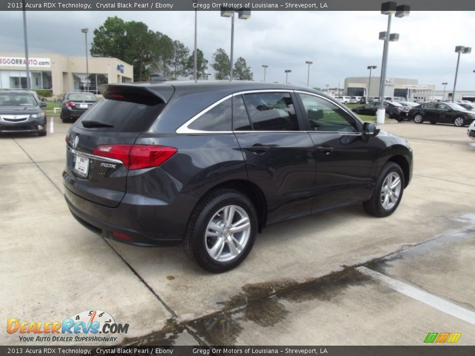 2013 Acura Rdx Technology Crystal Black Pearl Ebony