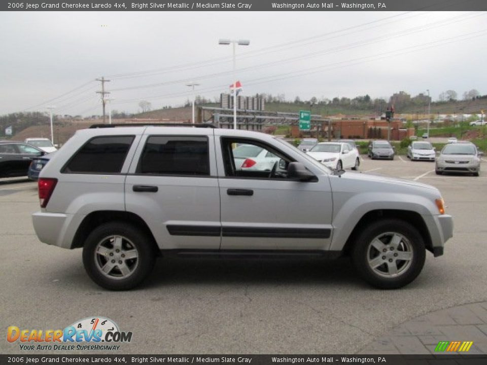 2006 Jeep Grand Cherokee Laredo 4x4 Bright Silver Metallic