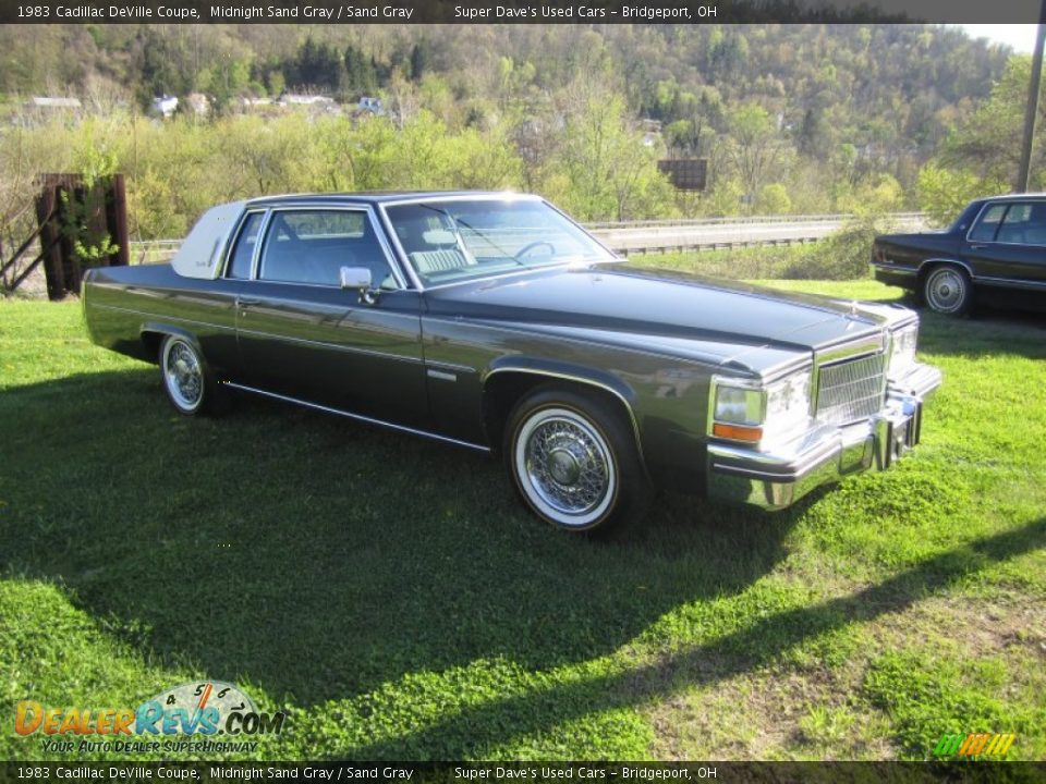 1983 Cadillac Deville Coupe Midnight Sand Gray Sand Gray