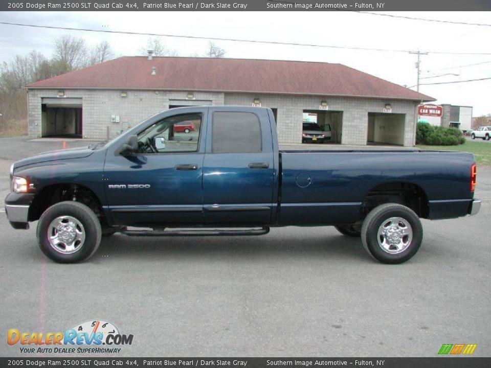 2005 Dodge Ram 2500 Slt Quad Cab 4x4 Patriot Blue Pearl