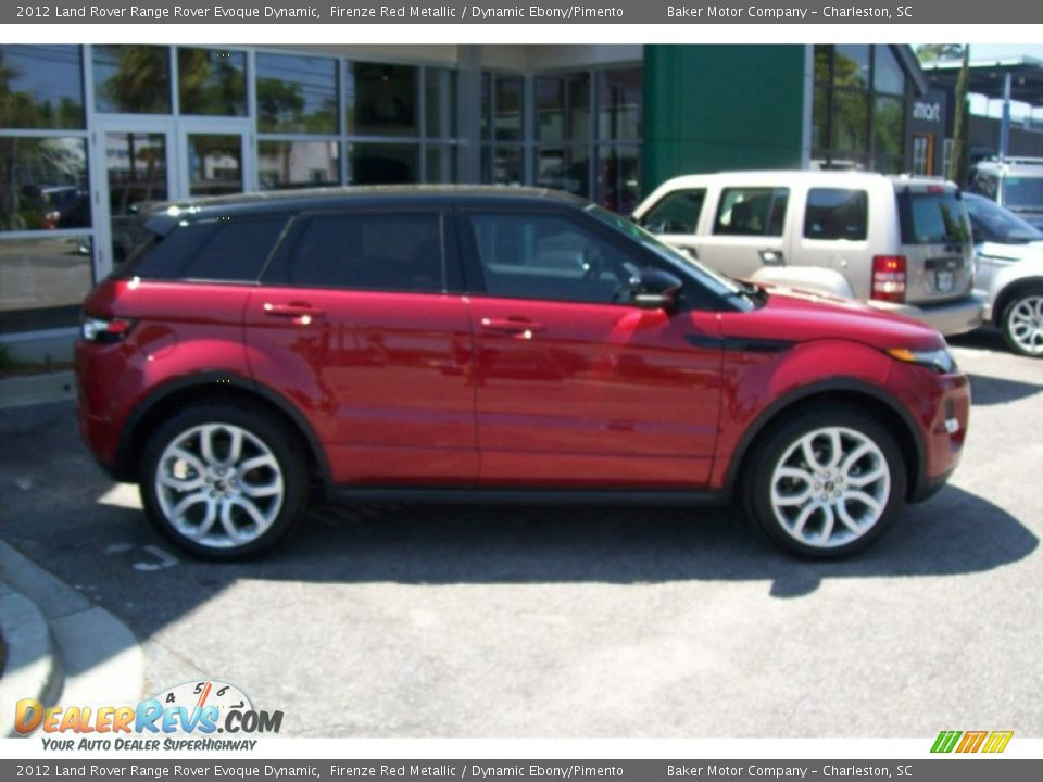 2012 land rover range rover evoque dynamic firenze red. Black Bedroom Furniture Sets. Home Design Ideas