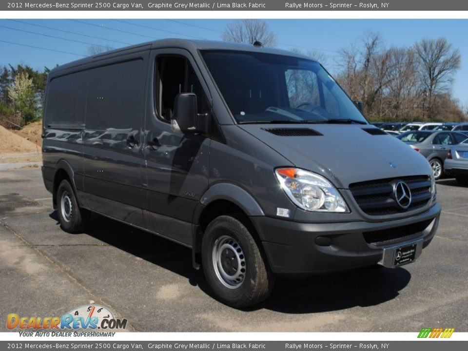 2012 Mercedes Benz Sprinter 2500 Cargo Van Graphite Grey