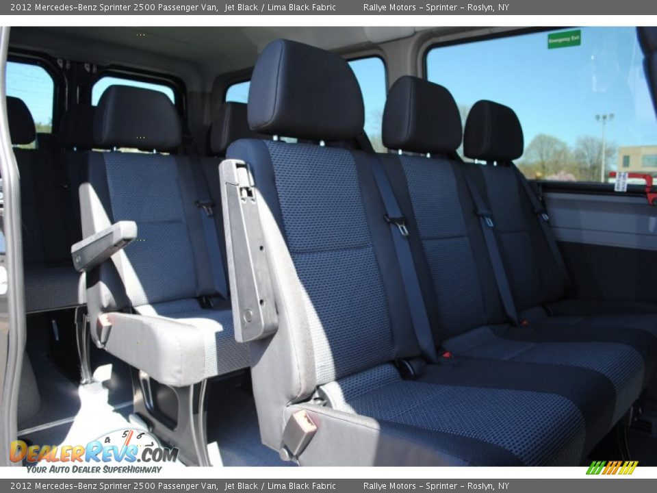 2012 mercedes benz sprinter 2500 passenger van jet black for Mercedes benz sprinter 15 passenger
