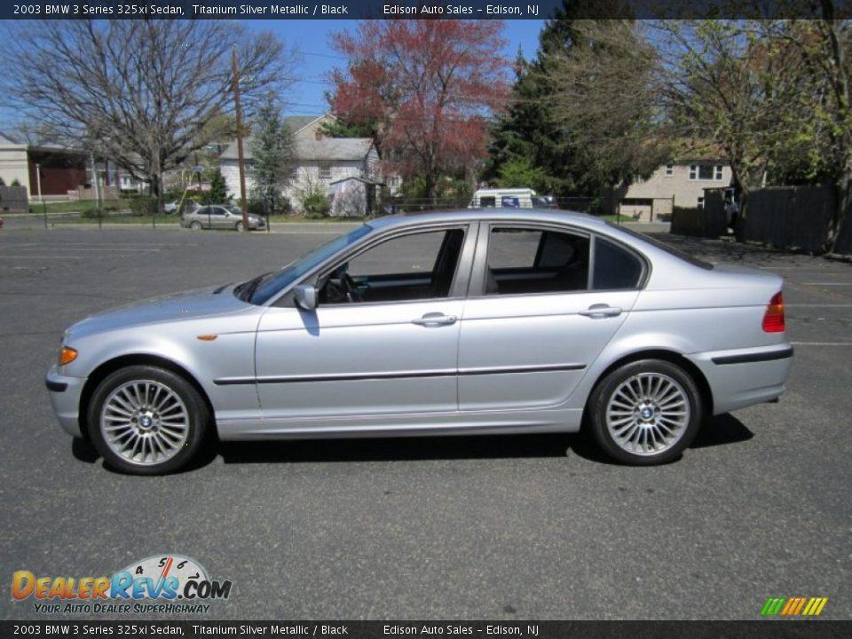 2003 bmw 3 series 325xi sedan titanium silver metallic black photo 3. Black Bedroom Furniture Sets. Home Design Ideas