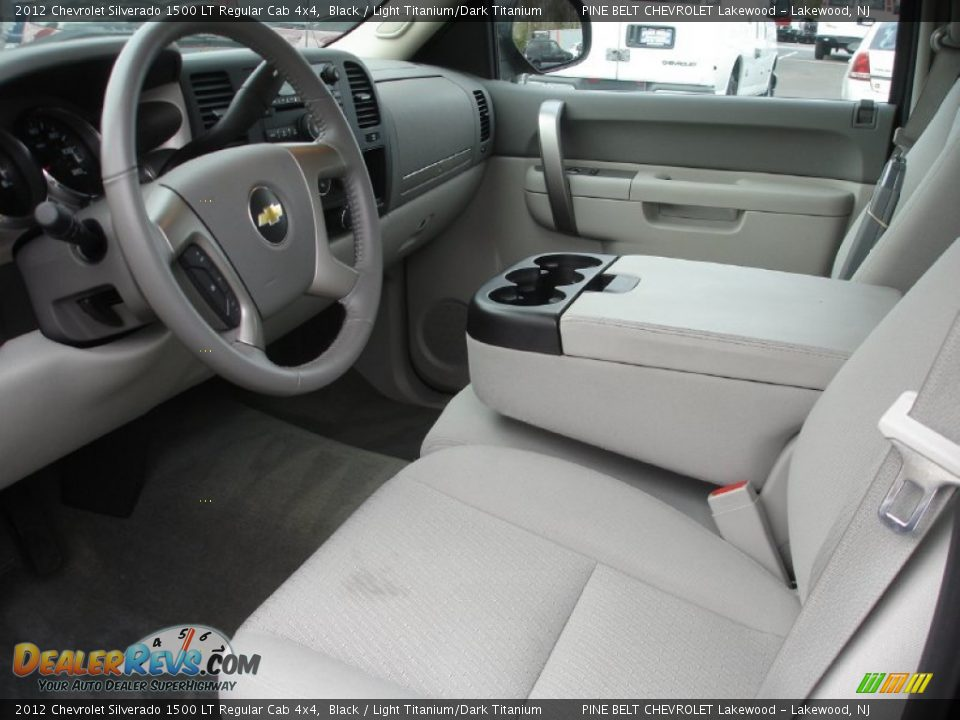 Light Titanium Dark Titanium Interior 2012 Chevrolet Silverado 1500 Lt Regular Cab 4x4 Photo