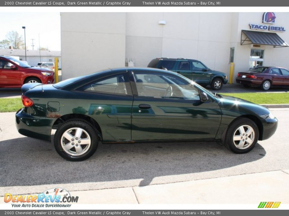 2003 chevrolet cavalier ls coupe dark green metallic graphite gray photo 10 dealerrevs com dealerrevs com
