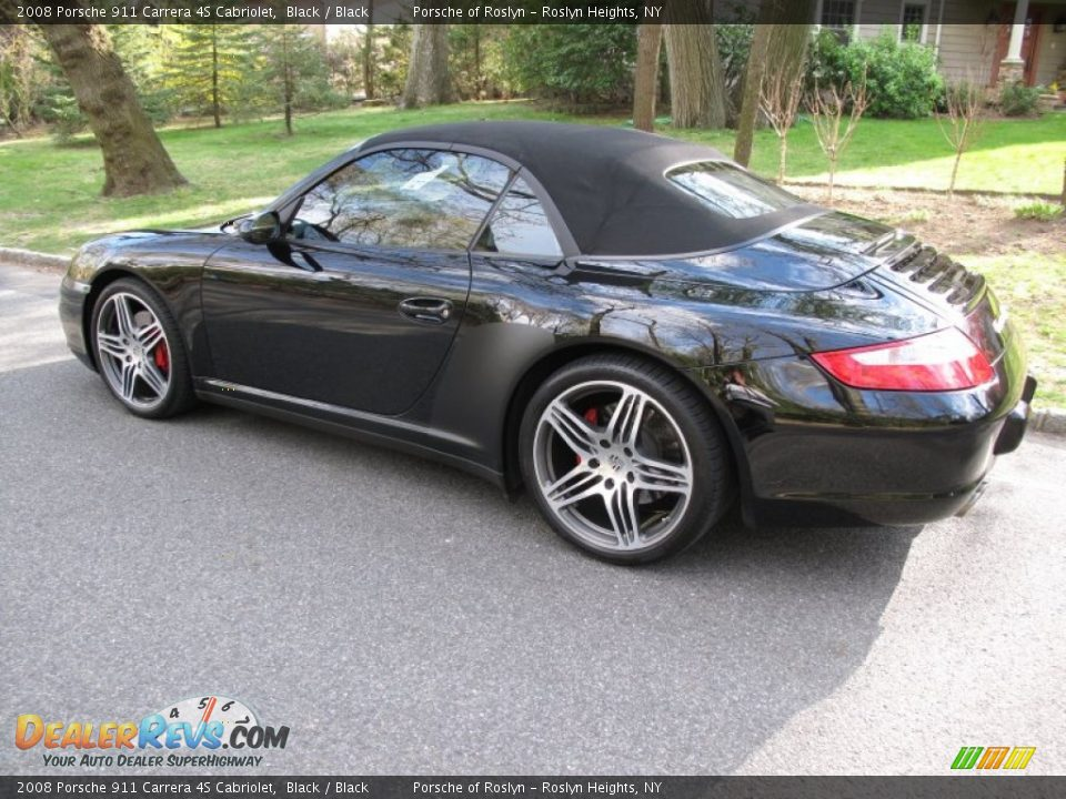 2008 porsche 911 carrera 4s cabriolet black black photo. Black Bedroom Furniture Sets. Home Design Ideas