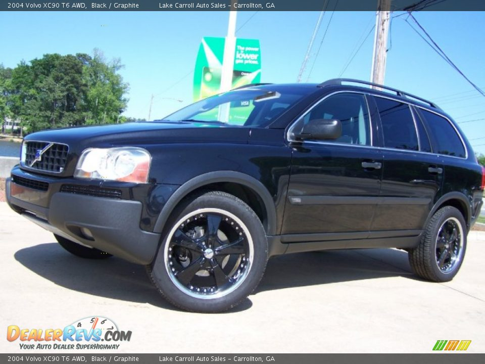2004 Volvo Xc90 T6 Awd Black Graphite Photo 2