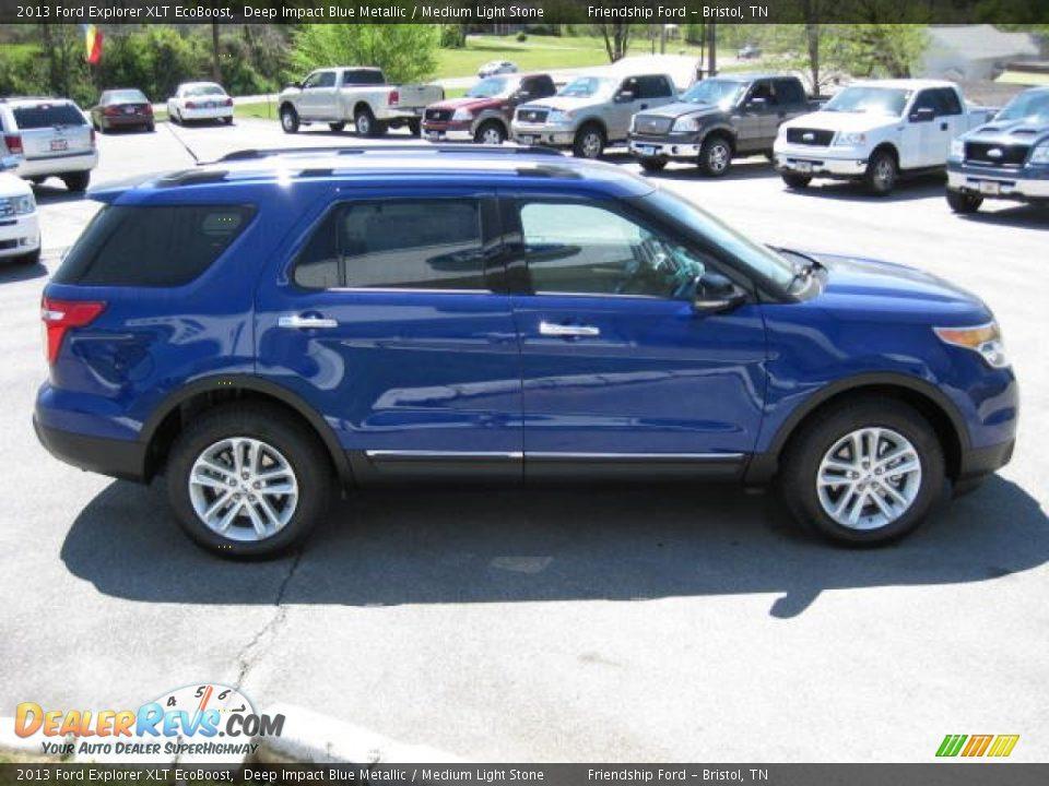 2013 Ford Explorer Xlt Ecoboost Deep Impact Blue Metallic