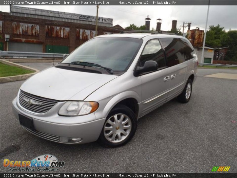 2002 chrysler town country lxi awd bright silver. Black Bedroom Furniture Sets. Home Design Ideas