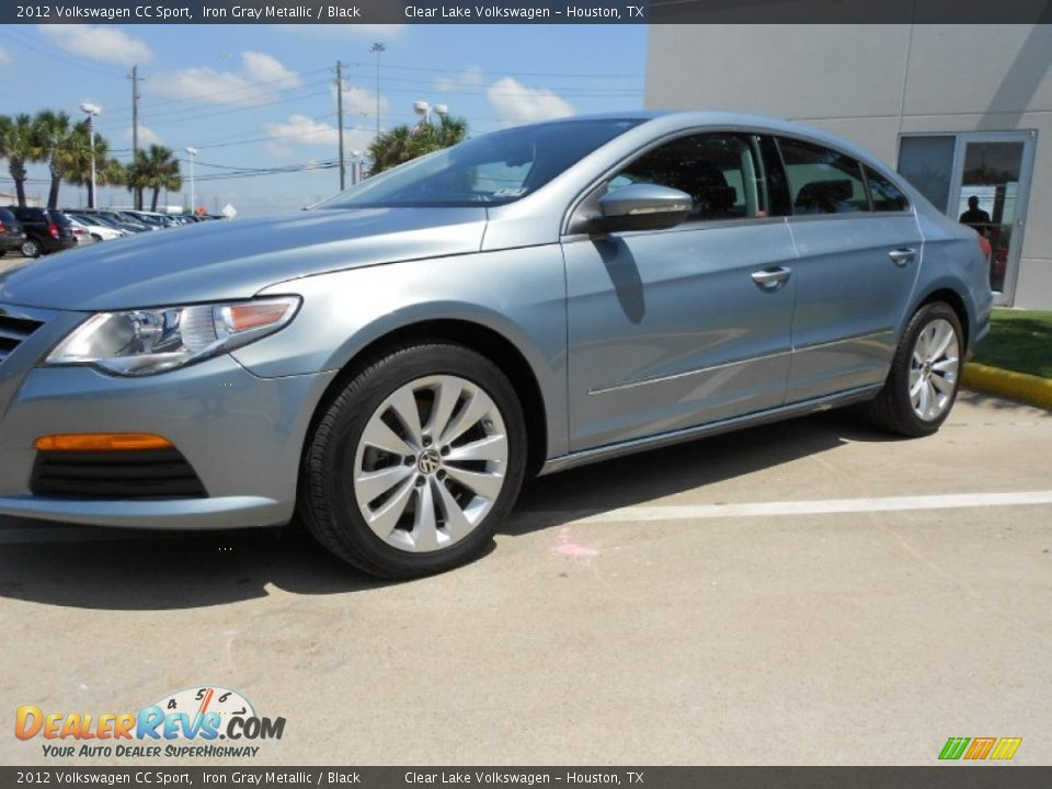 2012 volkswagen cc sport iron gray metallic black photo 3. Black Bedroom Furniture Sets. Home Design Ideas
