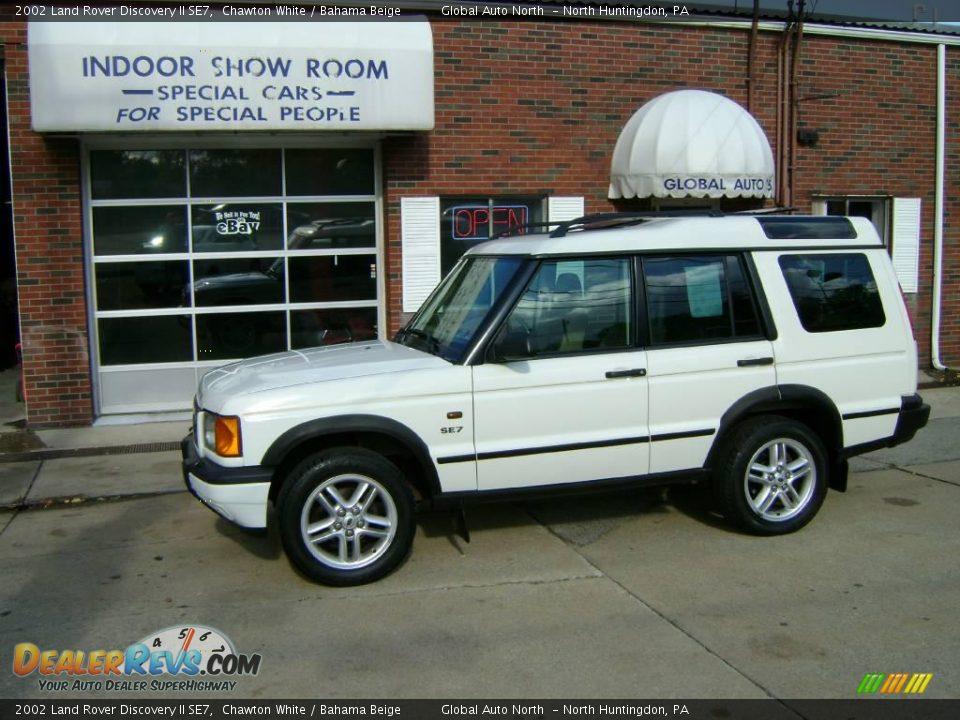 2002 Land Rover Discovery Ii Se7 Chawton White Bahama