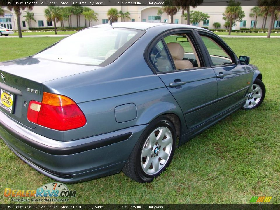 1999 bmw 3 series 323i sedan steel blue metallic sand. Black Bedroom Furniture Sets. Home Design Ideas