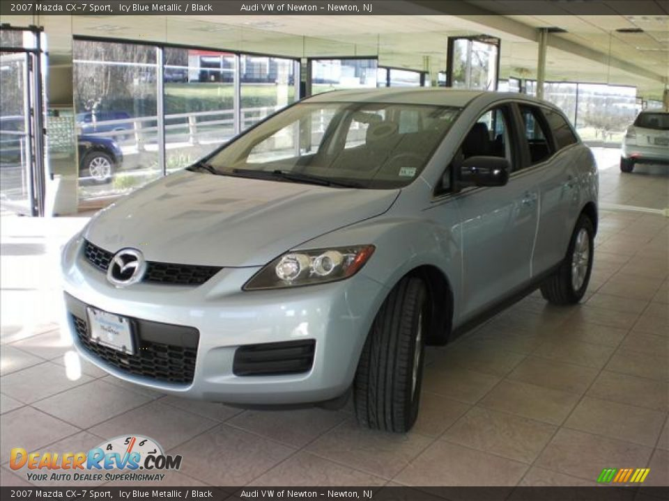 2007 mazda cx 7 sport icy blue metallic black photo 9. Black Bedroom Furniture Sets. Home Design Ideas