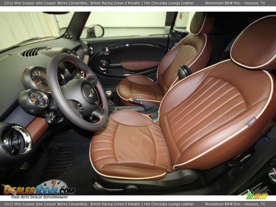 Hot Chocolate Lounge Leather Interior 2012 Mini Cooper John Cooper