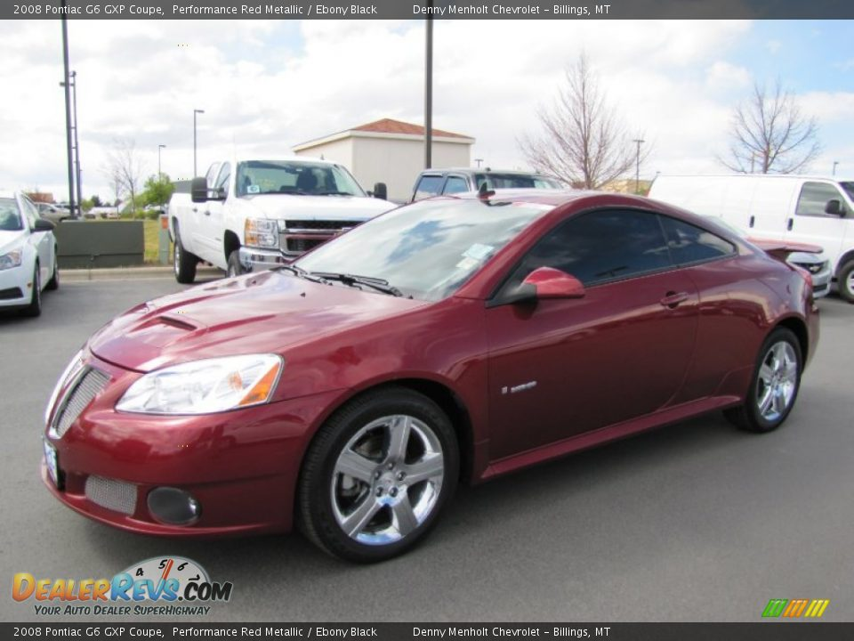 2008 pontiac g6 gxp coupe performance red metallic ebony. Black Bedroom Furniture Sets. Home Design Ideas