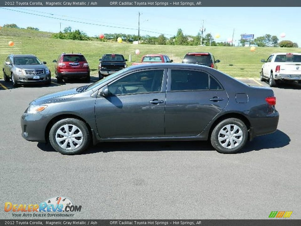 2012 Toyota Corolla Magnetic Gray Metallic Ash Photo 6