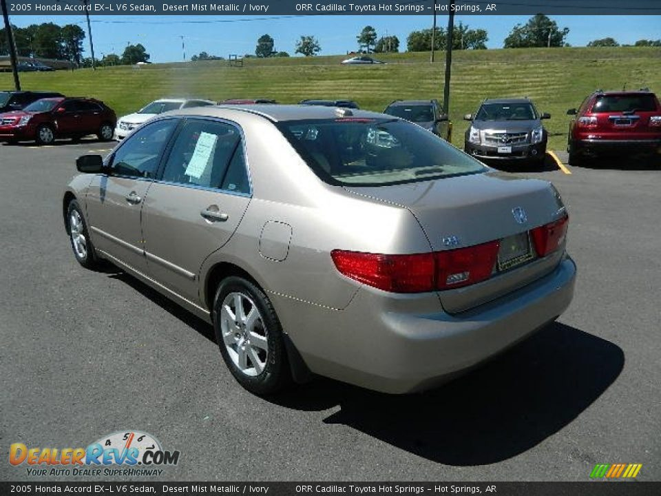 2005 honda accord ex l v6 sedan desert mist metallic. Black Bedroom Furniture Sets. Home Design Ideas