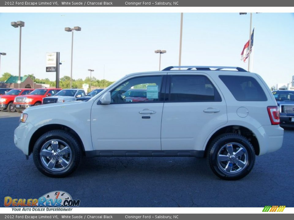 2012 ford escape limited v6 white suede charcoal black photo 5. Cars Review. Best American Auto & Cars Review