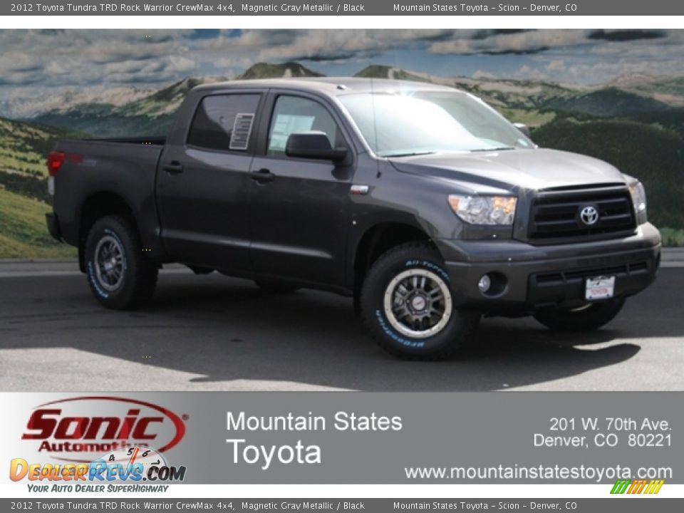 2012 Toyota Tundra TRD Rock Warrior CrewMax 4x4 Magnetic Gray Metallic ...