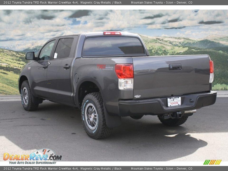 2012 Toyota Tundra TRD Rock Warrior CrewMax 4x4 Magnetic Gray Metallic