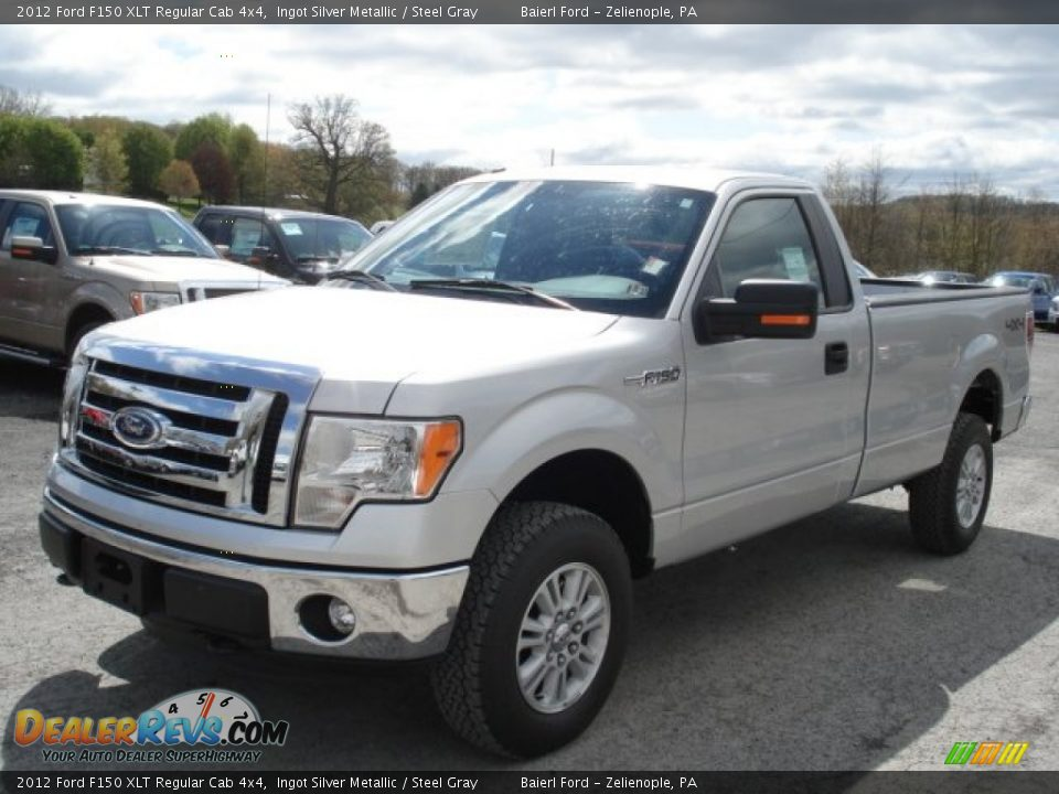 2012 ford f150 xlt regular cab 4x4 ingot silver metallic steel gray photo 4. Black Bedroom Furniture Sets. Home Design Ideas