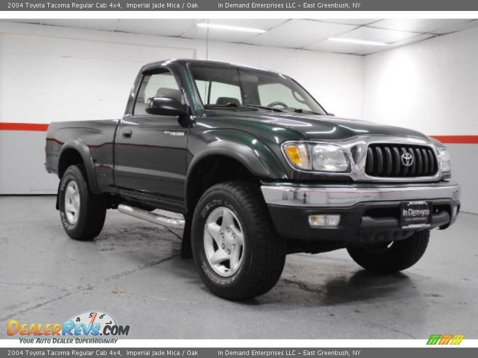 2004 toyota tacoma regular cab 4x4 imperial jade mica oak photo 2. Black Bedroom Furniture Sets. Home Design Ideas